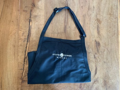 Black Apron with Logo