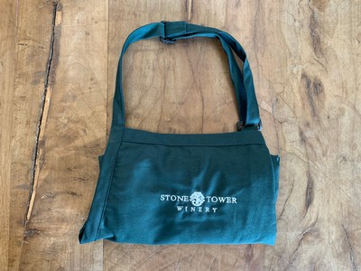 Green Apron with Logo