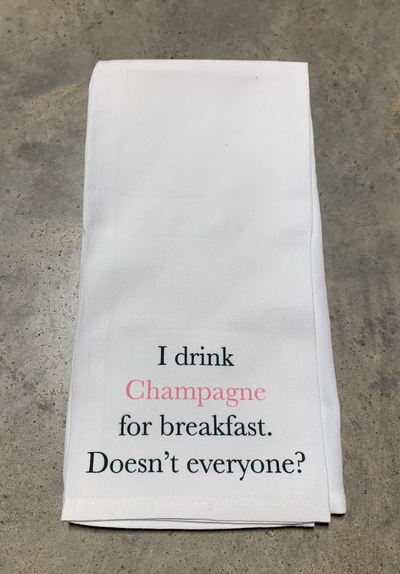 Champagne Towel