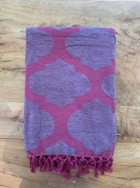 Purple Throw Blanket